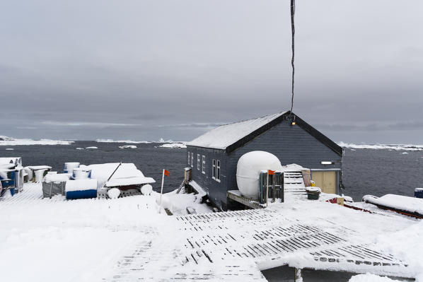 Vernadsky research base, Ukrainian Antarctic station at Marina Point on Galindez Island in the Argentine Islands, Antarctica.