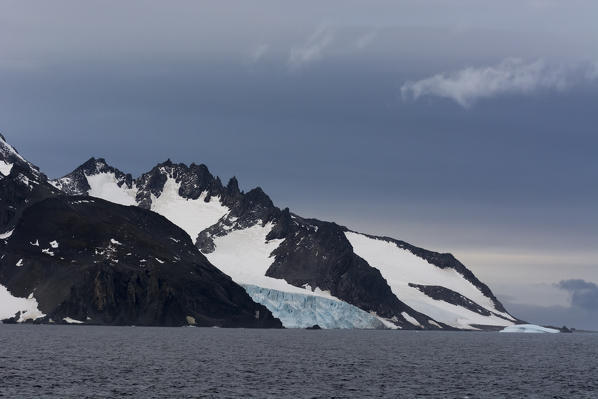 Livingstone Island, English strait, Antarctica.