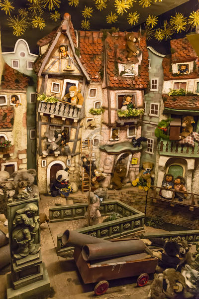 rothenburg ob der tauber bavaria germany europe traditional german christmas decoration